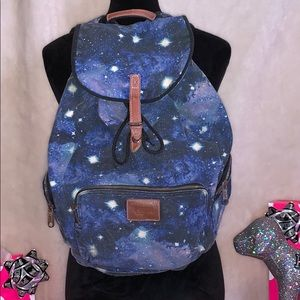 Rare Victoria's Secret Pink Galaxy Backpack